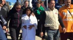 Yalitza Aparicio en Tijuana en una sesión