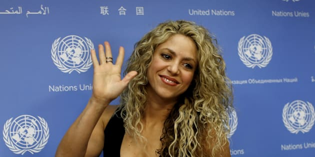 Mike Segar  Reuters                       Shakira à New York en 2015