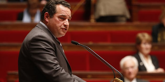 Le député Jean-Frédéric Poisson, ex candidat à la primaire de la droite et du centre en novembre 2016, ici à l'Assemblée nationale, le 19 novembre 2015.