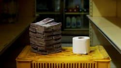 Un rotolo di carta igienica costa 2,5 milioni di bolivar. In Venezuela la moneta è ormai carta
