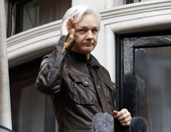 Indictment mistakenly filed against Julian Assange