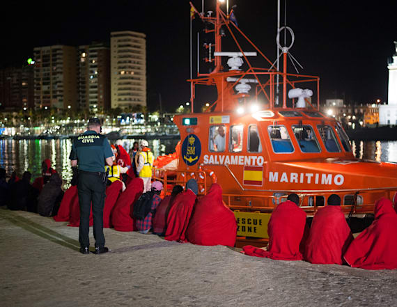 Spain rescues over 500 migrants in Mediterranean
