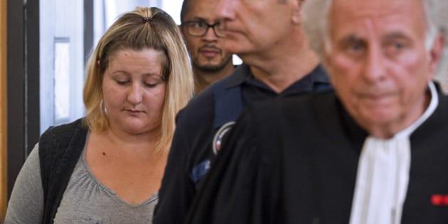 Cécile Bourgeon, la mère de Fiona, le 5 septembre 2016 au tribunal de Riom.