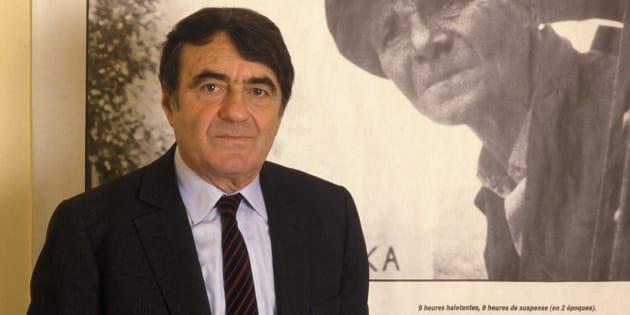 """Claude Lanzmann à la sortie de son film """"Shoah""""."""