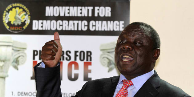 Zimbabwe's former leader of opposition party Movement For Democratic Change (MDC), the late Morgan Tsvangirai.