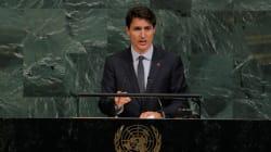 Trudeau offre un mea culpa aux Autochtones devant l'Assemblée générale de