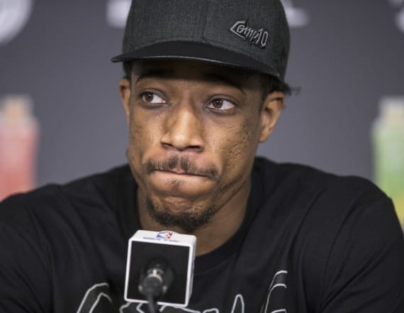 DeRozan posts cryptic messages on Instagram