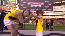 Podium Kids Saying Hilarious Stuff To Richmond Players Was The Best Grand Final
