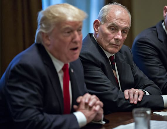 Report: Kelly, Trump 'barely tolerating' each other