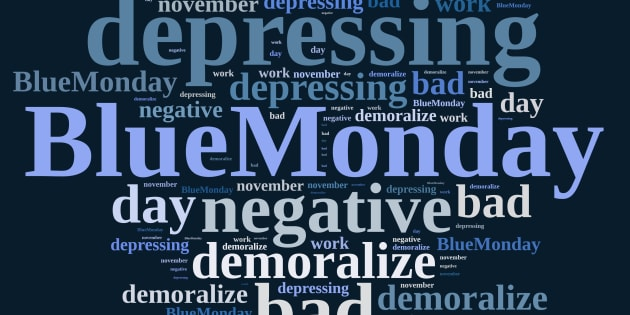 "The third Monday in January has unofficially been considered ""Blue Monday."""