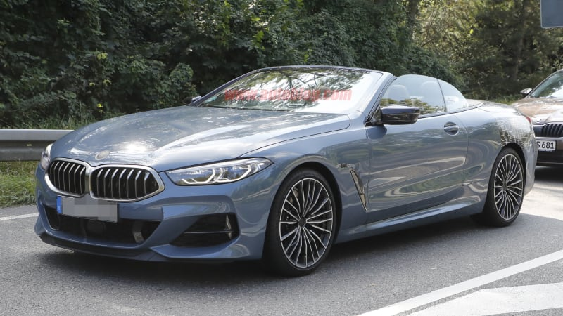 2020 BMW 8 Series Convertible Spied With Nearly No