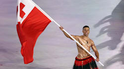 Tonga's Flag-Bearer Is A Winter Olympian Now, But He's Still