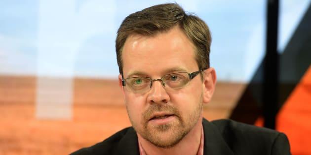 AfriForum deputy CEO Ernst Roets during a media briefing on March 19 2018 in Centurion.