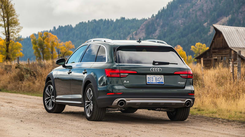 2018 Audi A4 Allroad is a quiet, comfortable and practical luxury
