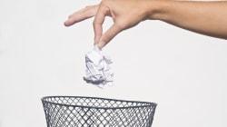 Si tiras bien la basura puedes evitar ser víctima de un