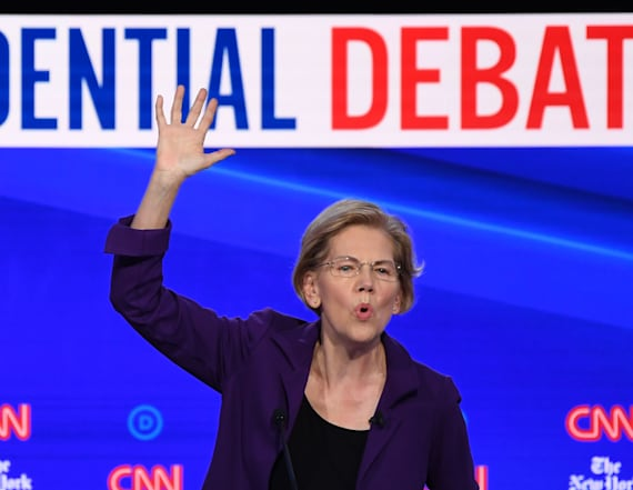 Rivals put Warren on spot over taxes and health care
