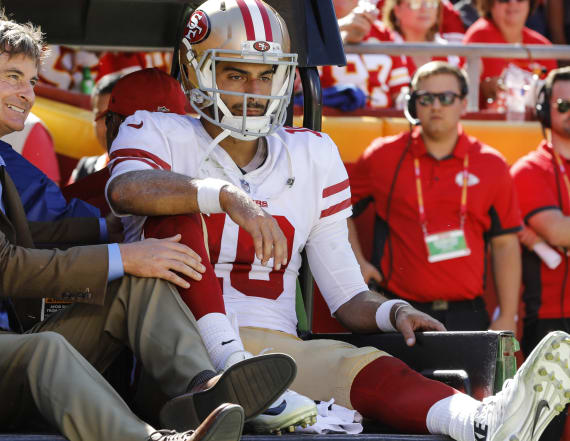 49ers fear the worst after Jimmy Garoppolo injury