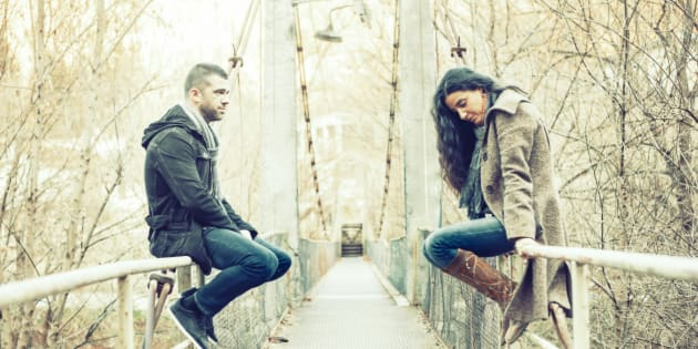 Probably don't break up with them while sitting on the edge of a bridge though.