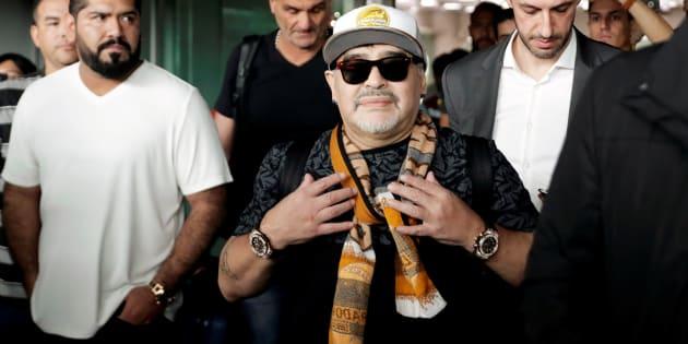 Diego Maradona aceptó dirigir en México al equipo de segunda división, Dorado de Culiacán.