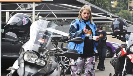 Bikers For Mandela Day Rally To Keep Girls In