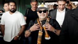 Así fue el primer día de Maradona en