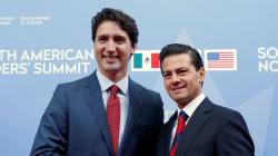 Peña y Trudeau abiertos a negociar el