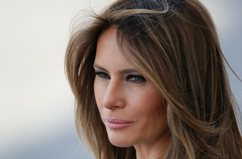 Melania Trump Raises Eyebrows On Twitter After Anti Bullying Speech