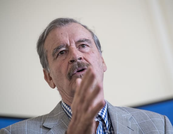 Vincente Fox blames school shootings on racism
