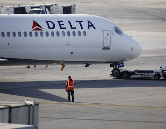Woman fined $500 for saving free Delta snack