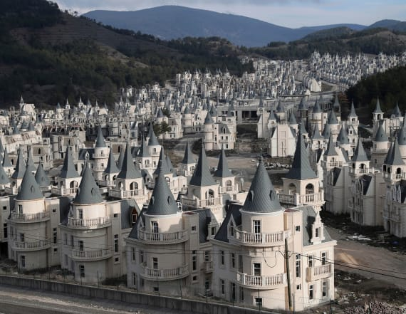Inside Turkey's $200M abandoned village of castles