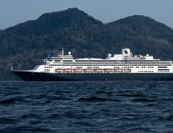 Cruise ship with sick passengers allowed to dock