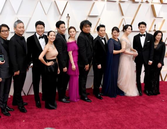 'Parasite' makes Oscars history
