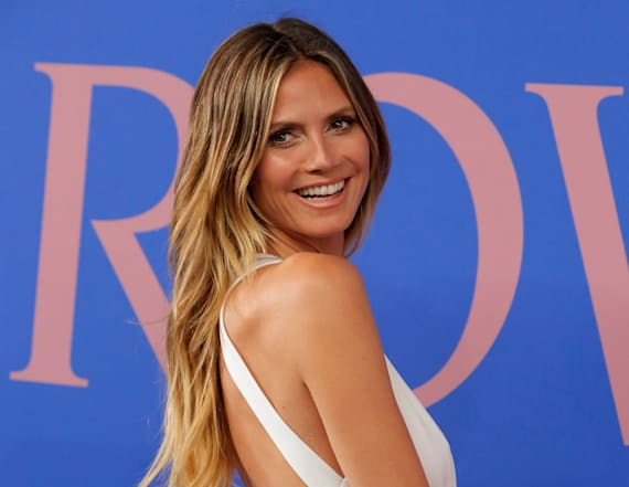 Heidi Klum suffers wardrobe malfunction