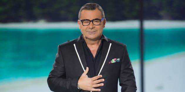 El presentador Jorge Javier Vázquez durante el debate final del programa 'Supervivientes' en Madrid.