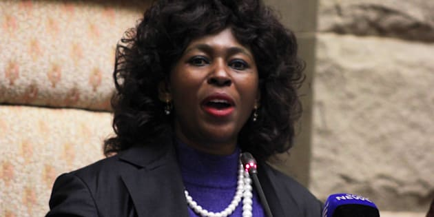 ANC MP Makhosi Khoza warned