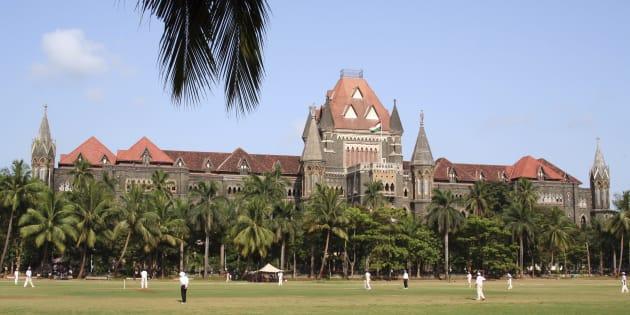 Mumbai High Court near the southern end of the city of Mumbai.