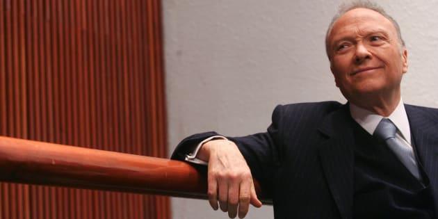 Alejandro Gertz Manero, diputado federal de Convergencia, participa en un foro en la Cámara de Diputados, el 3 de marzo de 2010.