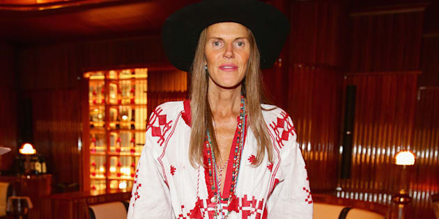 MILAN, ITALY - APRIL 18: Anna Dello Russo attends Lampoon cocktail and private dinner on April 18, 2015 in Milan, Italy.  (Photo by Vittorio Zunino Celotto/Getty Images)