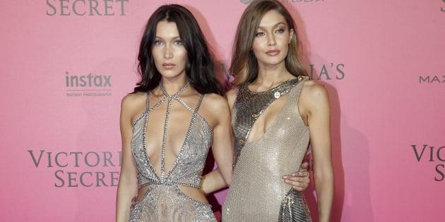 Les sœurs Hadid ont défilé ensemble pour Victoria's Secret.