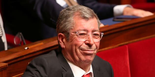 Patrick Balkany à l'Assemblée nationale en avril 2016.