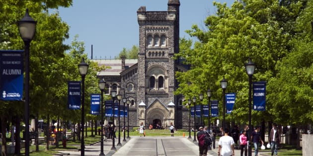 The University of Toronto's St. George campus.