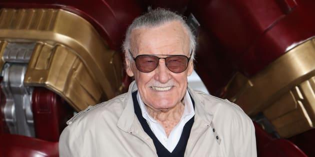 Stan Lee à Las Vegas en février 2017.