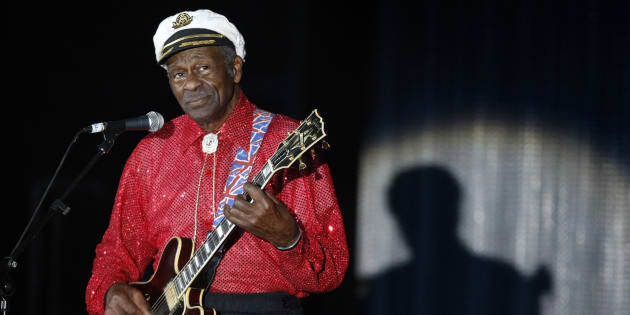 Chuck Berry à Monaco en 2009.    REUTERS/Eric Gaillard/File Photo