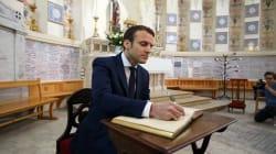 L'Élysée sur Macron qui accepte le titre de chanoine de Latran :