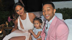 Chrissy Teigen Defends Fan Who Asked If Her Baby Was Conceived By
