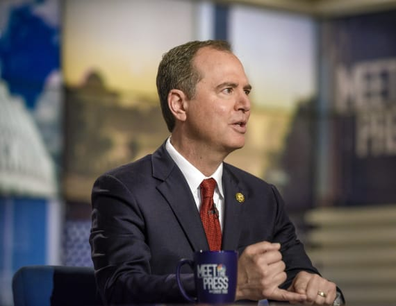 Schiff remarks on Trump's response to wildfires