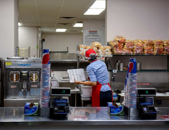The 'worst' job at Costco, according to employees