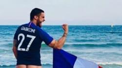 Baptiste Giabiconi a tenu sa promesse et tombé le bas après la victoire des