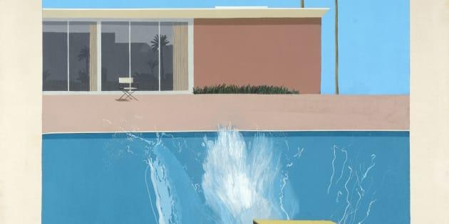 Bigger Splash : David Hockney à Pompidou