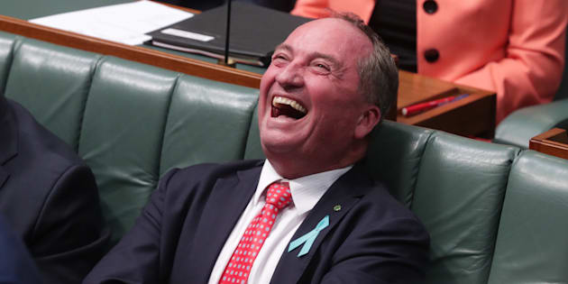 Barnaby Joyce has been sledging Annandale for a fortnight.